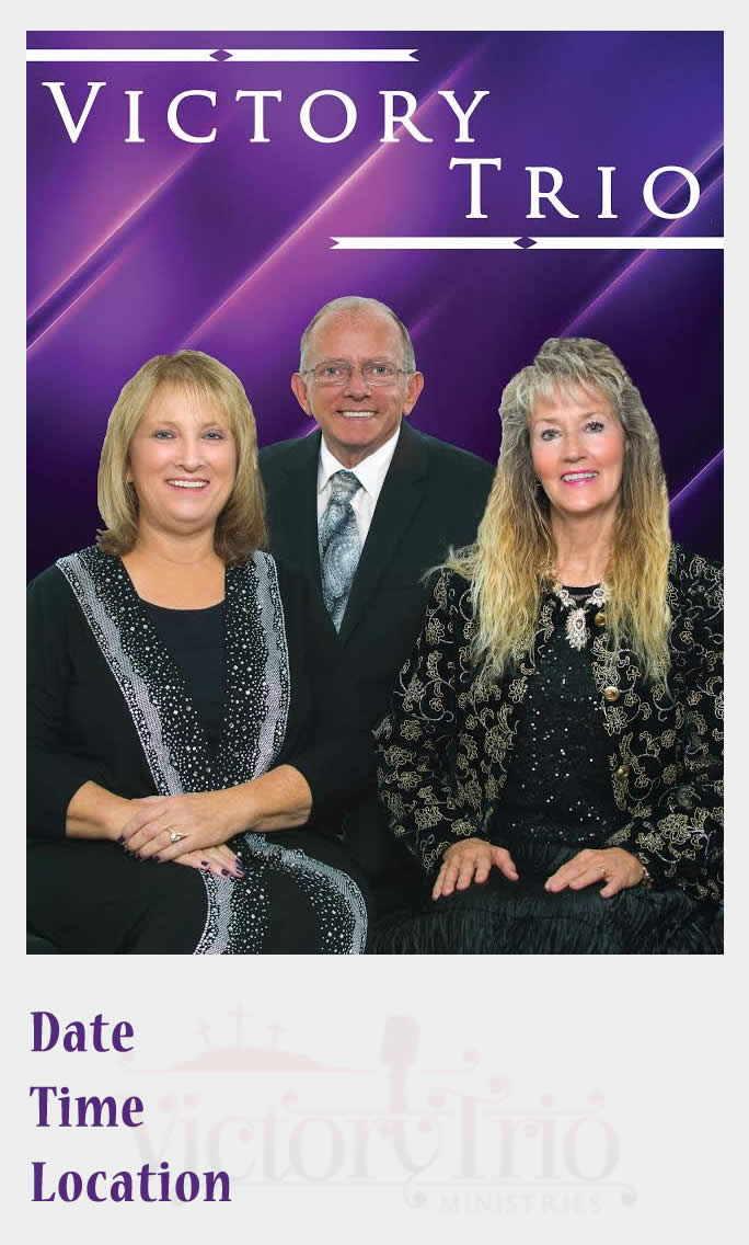 Victory Trio Ministries Poster